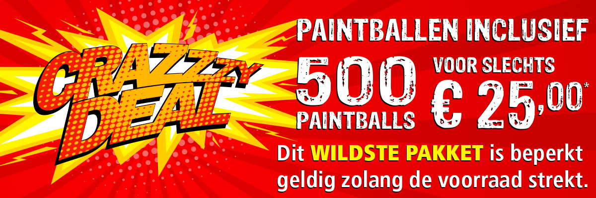 Crazy Deal: Wildste Pakket