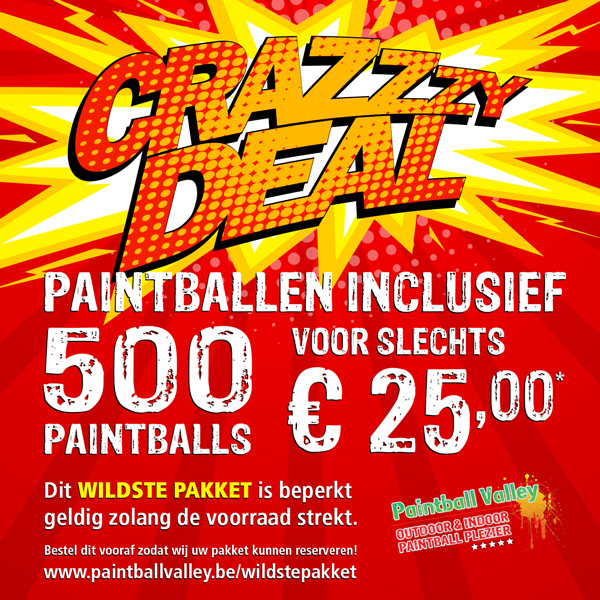 Crazy Deals: Wildste Pakket
