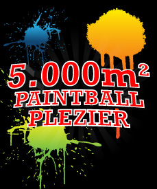 5.000m² Paintball Plezier